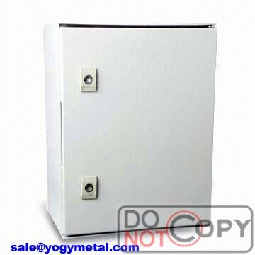 Outdoor aluminum watertight distribution box for electronic