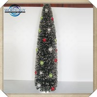 Wholesale artificial maple tree leaves Christmas decorations mini artificial christmas tree Bright color artificial tree