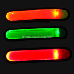 2015 popular sports equipment led wrist band captain armband for running