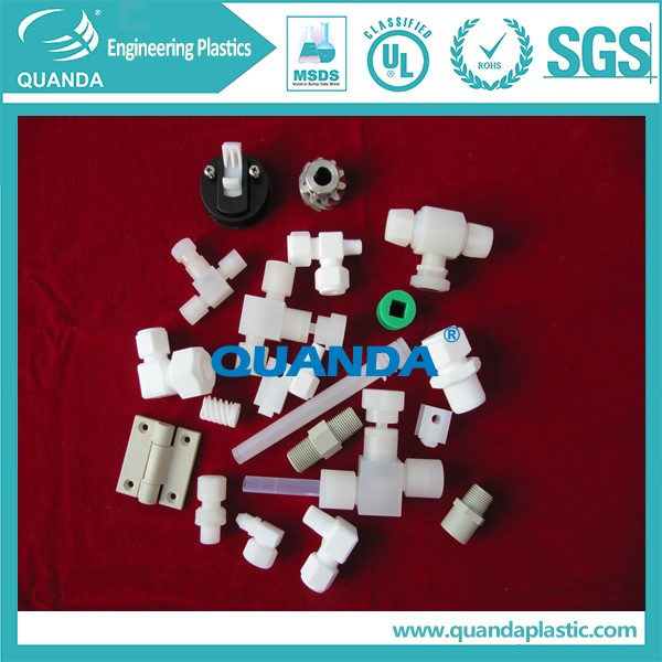 Corrosion Resistance PTFE Plastic Elbow