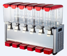 Snack machine beverage juice dispenser for restaurant with 6 tanks