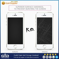 [GGIT] Popular Tempered Glass Screen Protector for Apple for iPhone 5G 5S 5C