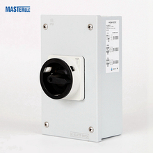 Low Voltage 400 Volt AC 250 Amp Electric Load Isolation Switch 4 Phase