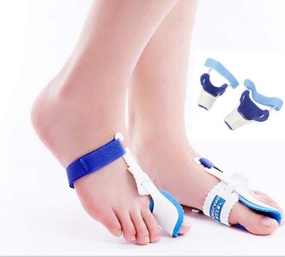 Bicyclic thumb orthopedic braces, bunions pain foot care aid orthotics toe splint