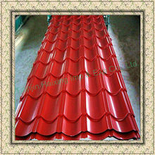 Supply High Quality metal roofing sizes