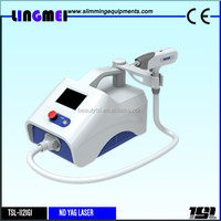 Lingmei q switched advanced nd yag laser tattoo removal machine/device/equipment