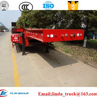 Vehicle Transport Low Bed Semi Trailer