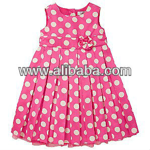 Girls Organic woven dress