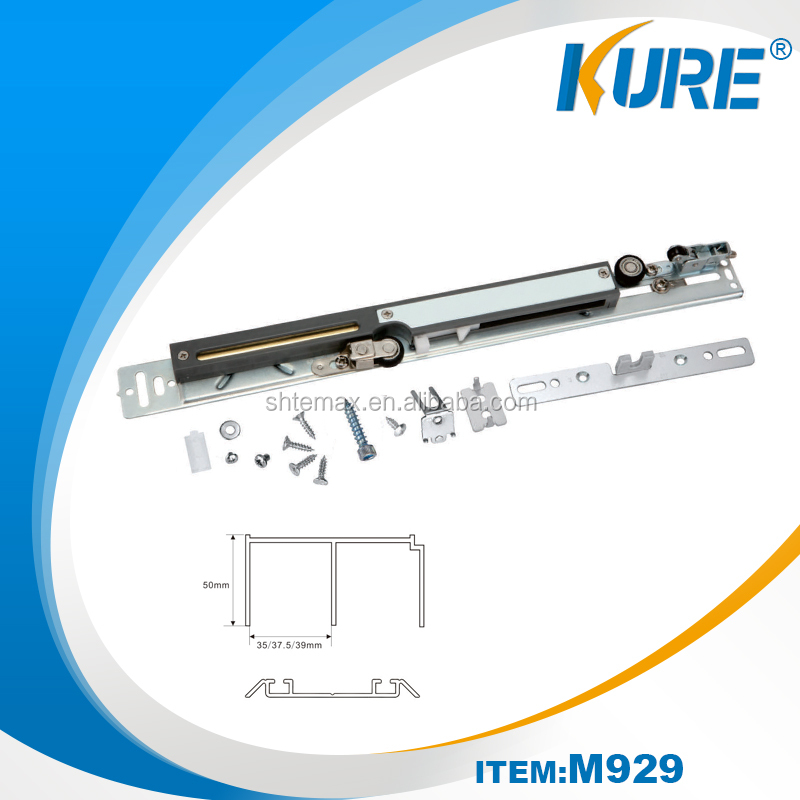 Kure durable soft close damper for sliding door