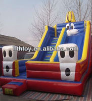 Popular commercial inflatabel slide cheap playground slide