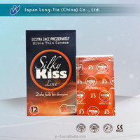 High quality male sex long time condom in foil with customized OEM design