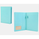 stylish outlook A5 high quality pu leather cover travel organizer folder with writing pad