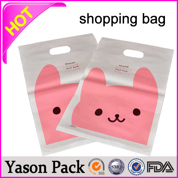 YASON shopping tote bags printing t-shirt poly bag for shopping folding shopping handbag bags