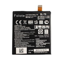 Double IC Spice cell phone bl-T9 battery for lg nexus 5 battery