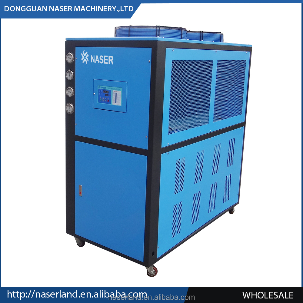 Newly Designed packaged chiller screw air cooled industrial chiller distilled water machine