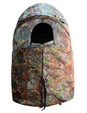 One Man Wildlife OUtdoor Game Chair Hunting Blind Tent