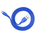 Strong PVC material  micro usb fast charging cable 1m 2m 3m OEM  for android