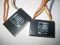 AC ceiling fan capacitor / CBB61 ceiling fan capacitor / Fan run capacitor