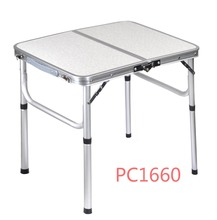 Adjustable Table Height Foldable Mechanisms Folding Camping Table