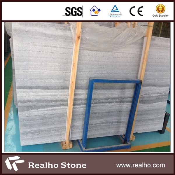 New Grey Marble Chinese Blue Wooden Vein Marble Slab and Tiles
