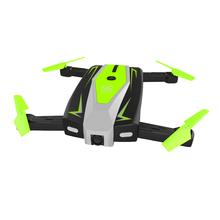 folding arm headless mode rc phone drone with 720p hd camera gyro drone aircraft