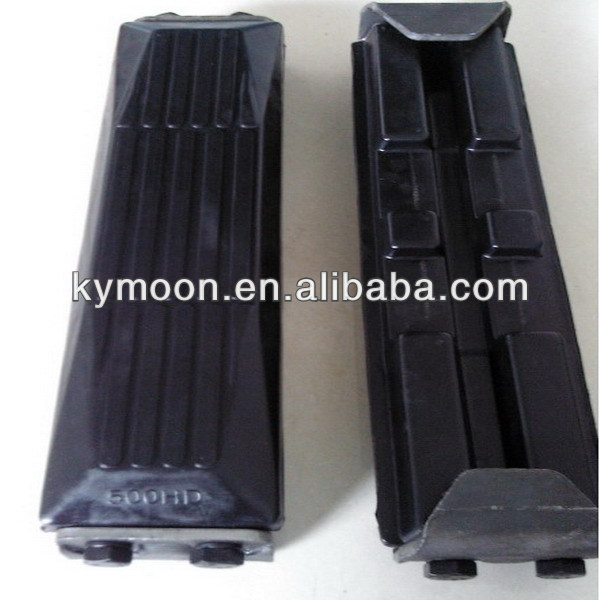 Rubber Track Pad for Excavator, Crane (bolt-on type,clip on type)