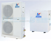 Split heat pumps for heating