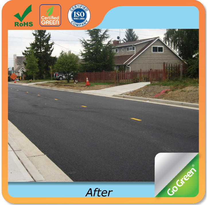 Go Green asphalt recycling agent with better low temperature performance and adhesion properties