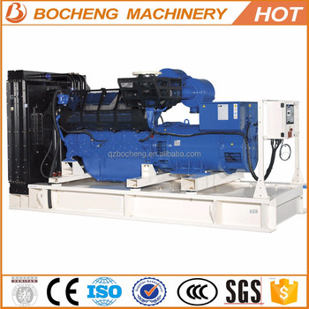 China quality standby power diesel 500kva generator sets for reefer container