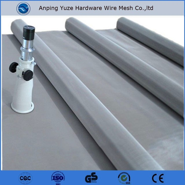 SUS 304 ASTM 316 150 mesh 200 mesh high temperature resistant stainless steel wire mesh
