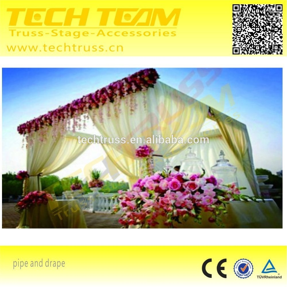 6*3M Wholesale pipe and drape system kits