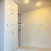Prefabricated easy assembly container house with LED light