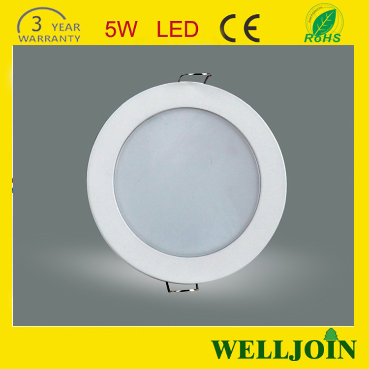 CE&Rohs Approved Dimmable Ultra Slim Led Downlight With 90mm Cut Out