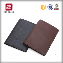 Poly urethane passport holder PU leather passport cover
