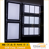 Double sided magnetic frame a4 crystal acrylic light frame / hanging LED light box shadow box led light kit