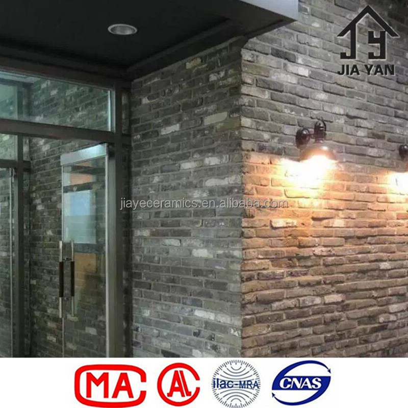 Grey Sintered Clay Wall Brick For Sale