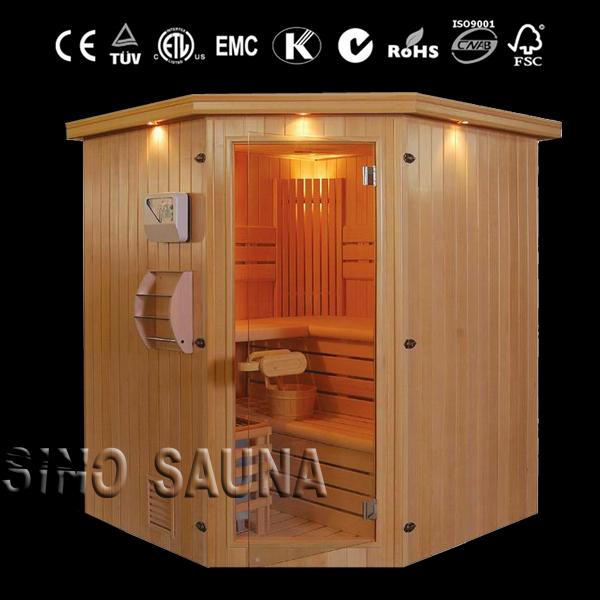 New product luxury finland traditional sauna cabin steam sauna room
