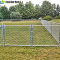 Used Galvanized/pvc Steel black chain fence for sale