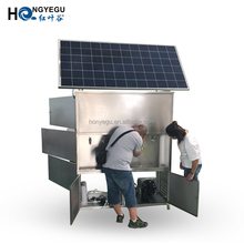 New Solar Energy Hot and Cold Water Dispenser/Cooler for Water Purification and Filtration