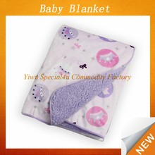 soft feel 100% polyester Eco-friendly baby blanket/kids blanket blanket for newborn baby SPBB-032