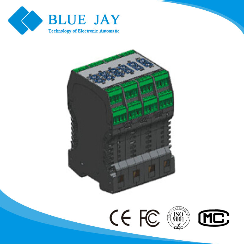3P4W Multi-function electrical Relay RE-M RE-M-T, 8 channels output relay