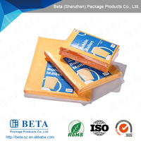 Alibaba Express Self-seal Kraft Paper Envelope/ Golden Kraft Bubble Mailer