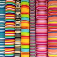 Custom 100 ripstop cotton printing multicoloured stripe cotton canvas printed fabric wholesale stretched canvas manufacturer