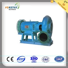 20m -200m Water Head Small Francis Hydro Turbine / Francis Water Turbine with Synchro Generator
