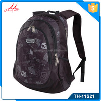 Wholesale durable lightweight jacquard hot shot leisure men backpack bags