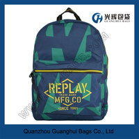 Resin teeth zipper school backpack
