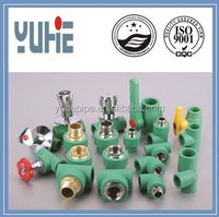 Complete detail china ppr plumbing material in pipe fittings