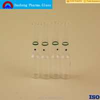 Pharmaceutical Glass Ampoules with color ring