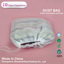 custom non woven drawstring dust bag leather handbag packing dust bag
