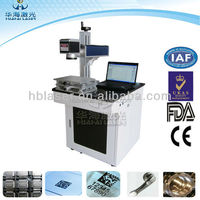 Ear tag printing machine 20W Fiber Laser Desktop Marking Equipment
